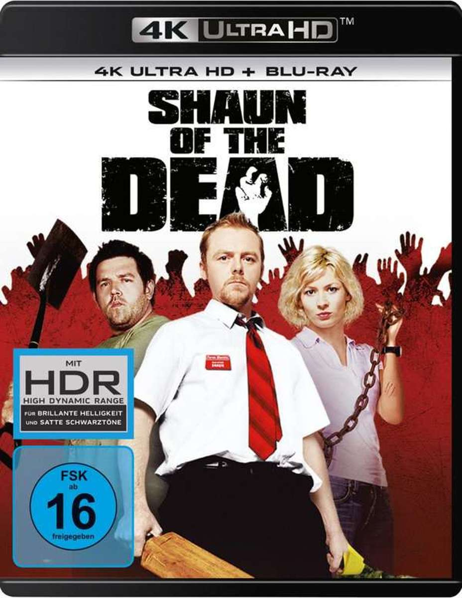 Shaun of the Dead (Ultra HD Blu-ray & Blu-ray)-