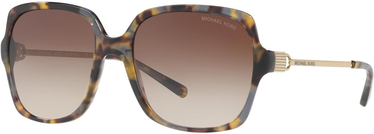 Michael Kors Bia Brown Grey Tortoise Zonnebril 0MK2053 329213 56 - Tortoise kopen