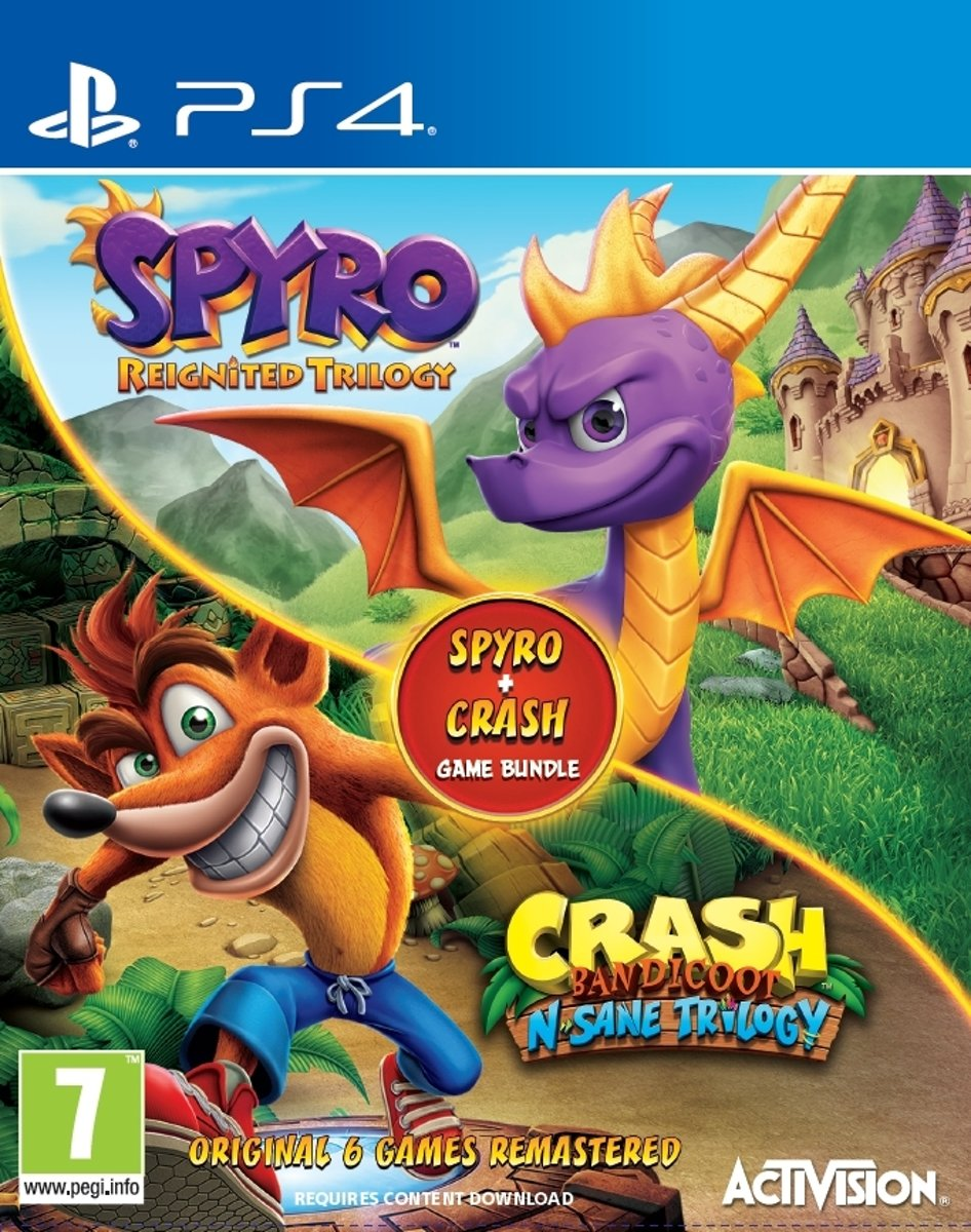 rash-Spyro bundle PlayStation 4
