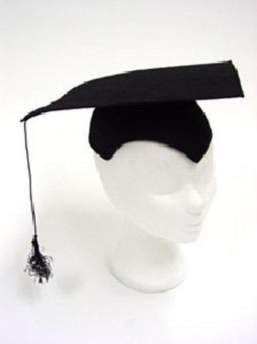 Hoed Professor Zwart