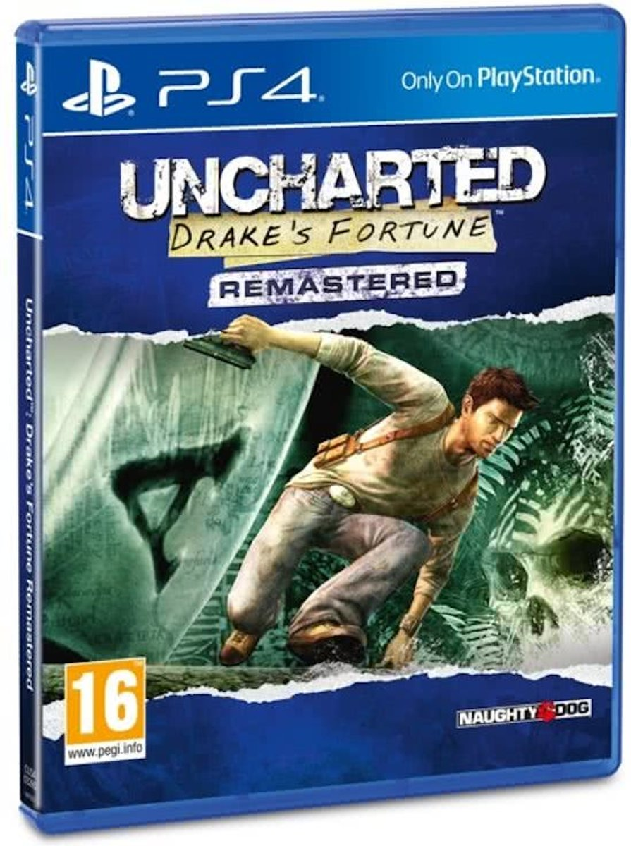 Uncharted: Drake's Fortune PlayStation 4