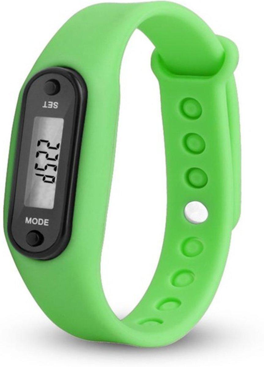 Digitale LCD Stappenteller - groen - calorie - loopafstand - steps - teller - stappenteller kopen