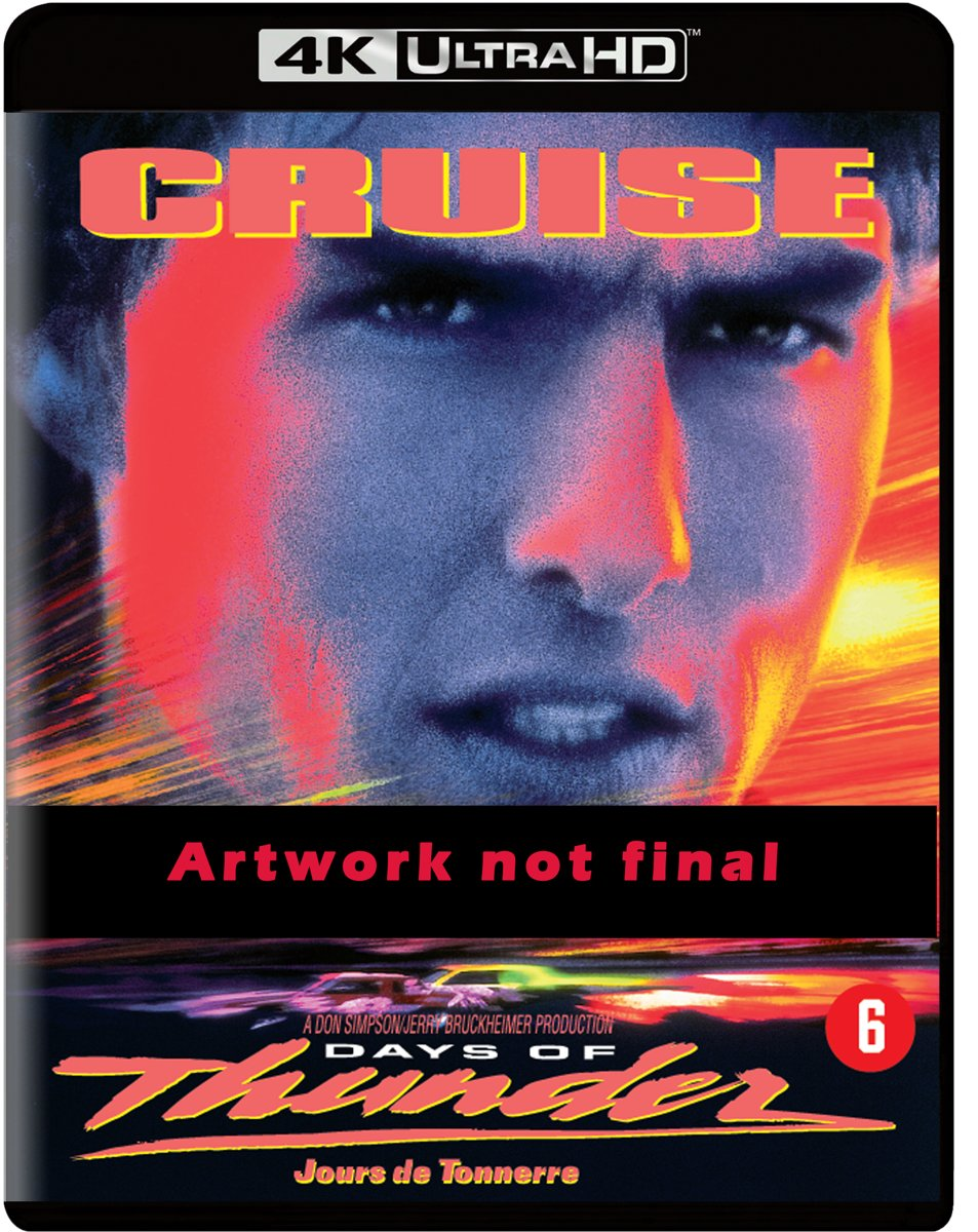 Days of Thunder (4K Ultra-HD Blu-Ray)-