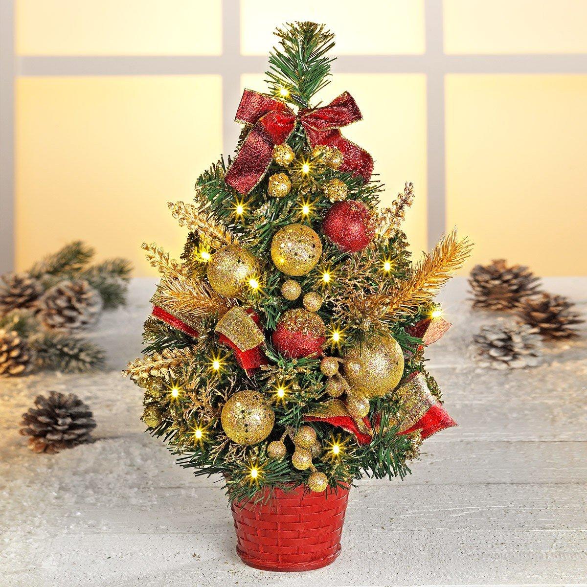 Kerstboompje met leds kopen