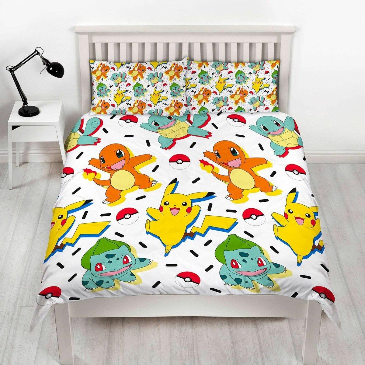 Pokémon Memphis - Dekbedovertrek - Tweepersoons - 200 x 200 cm - Multi kopen