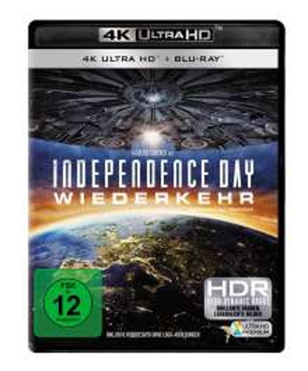 Independence Day 2 - Wiederkehr (Ultra HD Blu-ray & Blu-ray)-