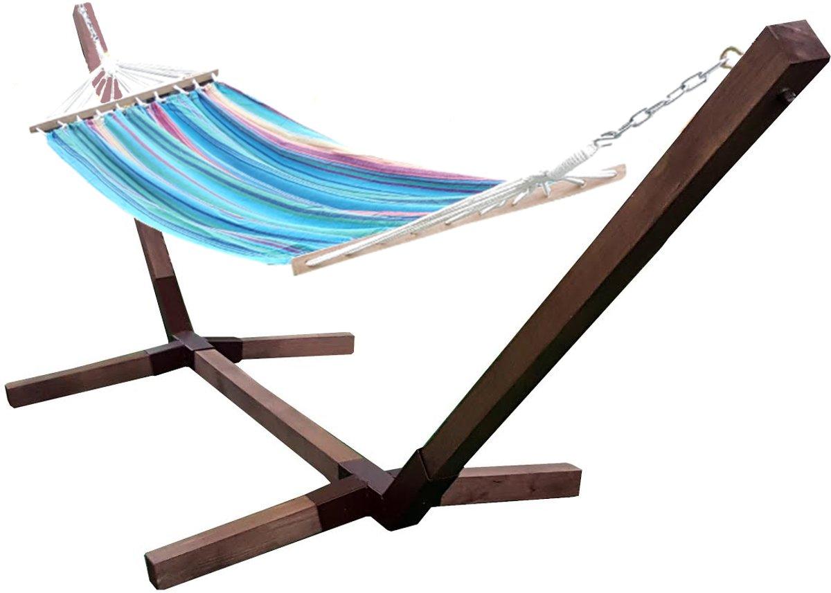 Motyl' Eenpersoons Hangmatset 'COMBO'/ Hangmat met standaard