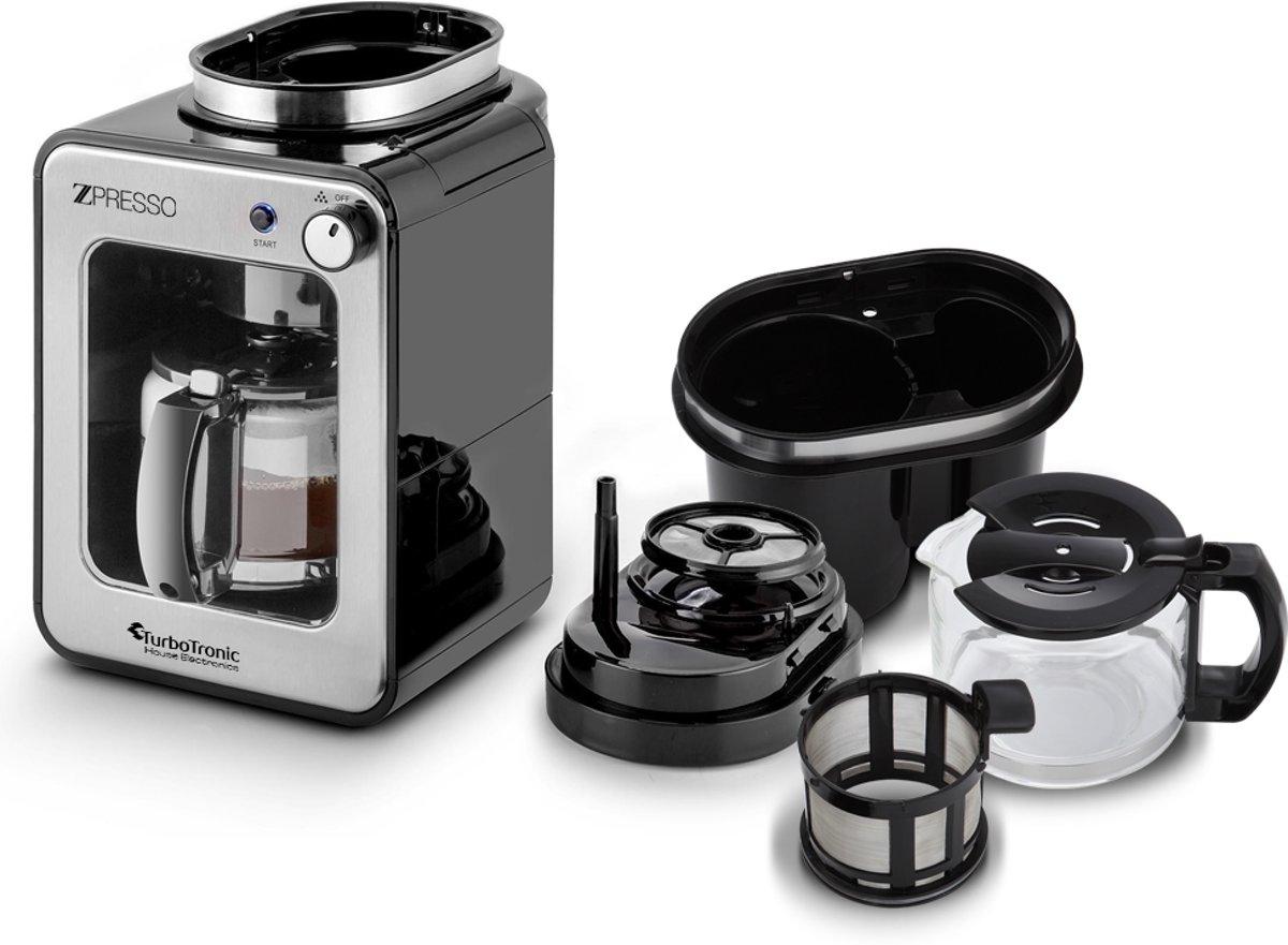 TurboTronic ZPresso koffiezetapparaat - TT-CM7 - 600 Watt