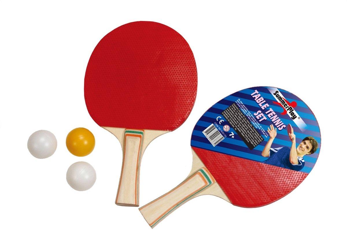 Tafeltennis set - 2x batje en 3x Pingpong bal kopen