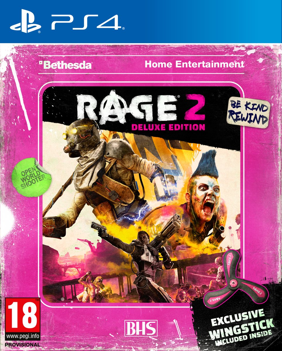 Rage 2 Deluxe Edition PlayStation 4