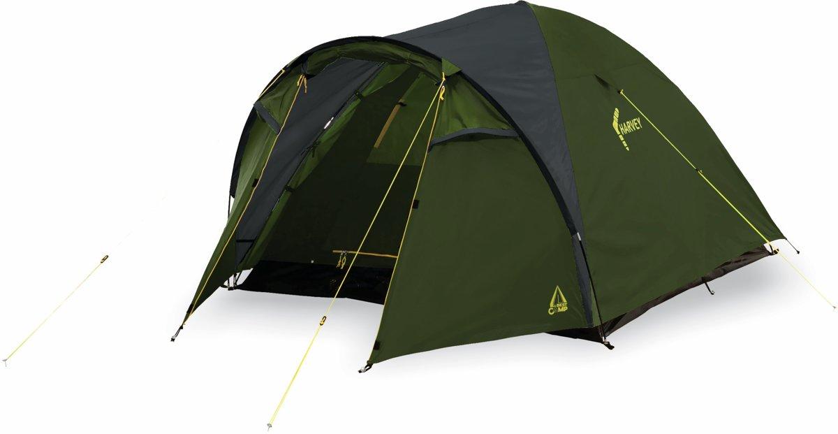 Best Camp Harvey Koepeltent - 3-persoons - Groen