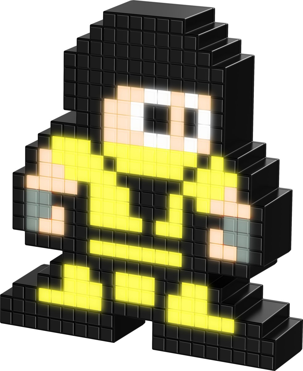 Pixel Pals - Lichtfiguur - Mortal Kombat - Scorpion - #043