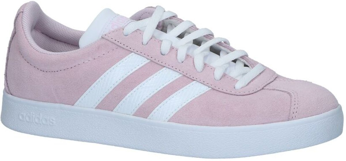 adidas Vl Court 2.0 Dames Sneakers Aero Pink S18Ftwr WhiteLight Granite Maat 41.5