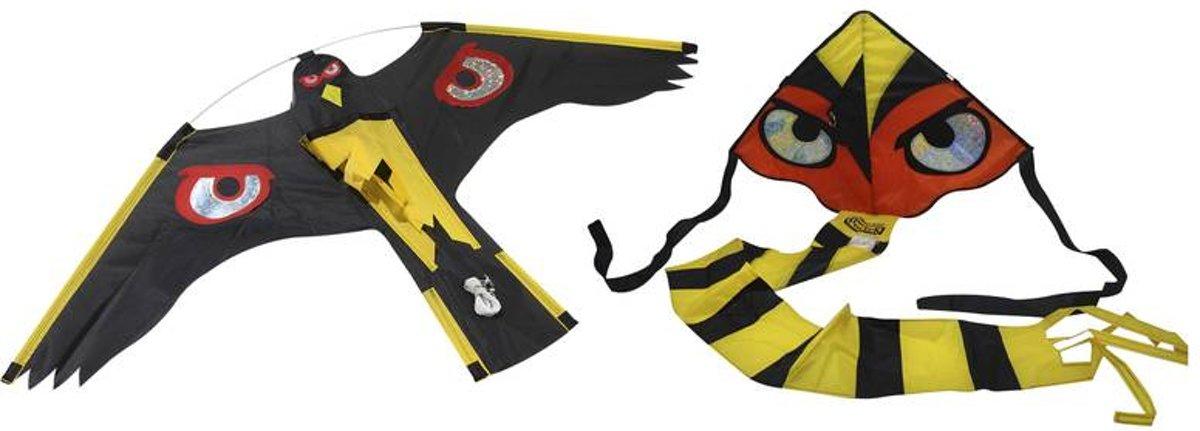 Hawk Kite Vogelverjagende vlieger zwart kopen