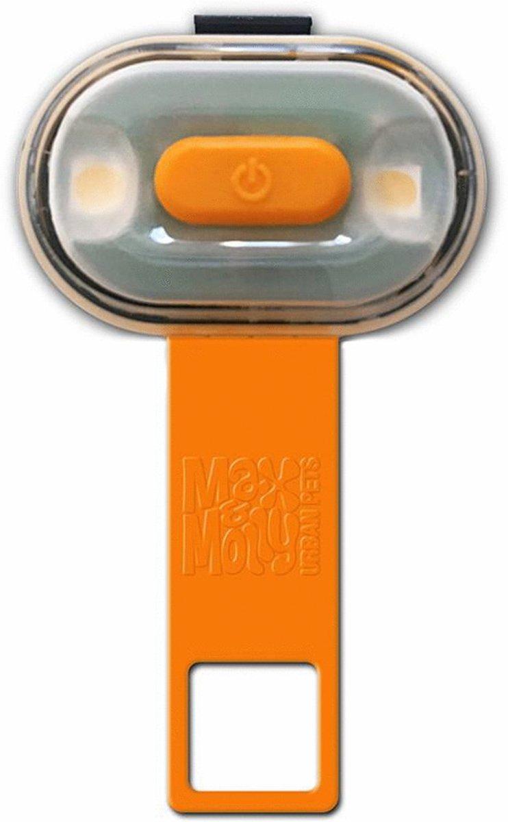 Max & Molly Honden veiligheids verlichting Matrix Ultra Led - Oranje kopen
