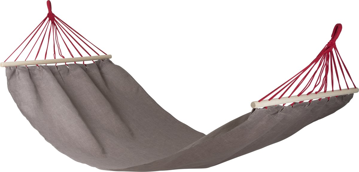 Bo-camp Urban Outdoor - Hangmat - Greenford - Met Spreidstok - Taupe