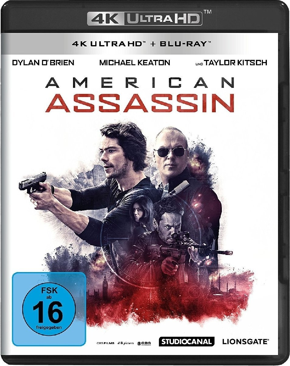 American Assassin (Ultra HD Blu-ray & Blu-ray)-