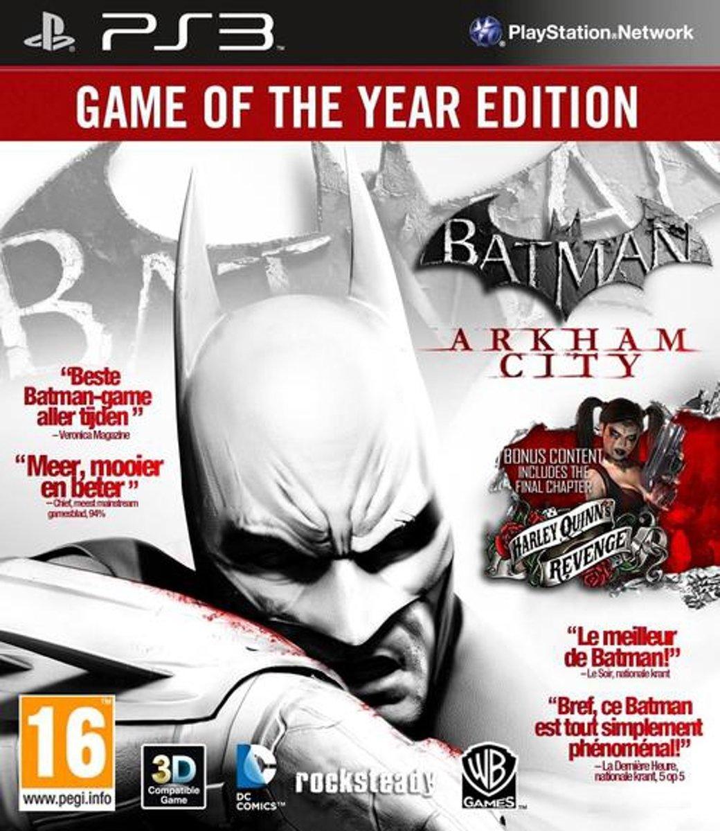Batman Arkham City (GOTY Edition) kopen