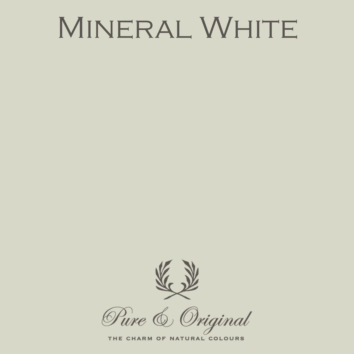 Pure & Original Fresco Kalkverf Mineral White 2.5 L