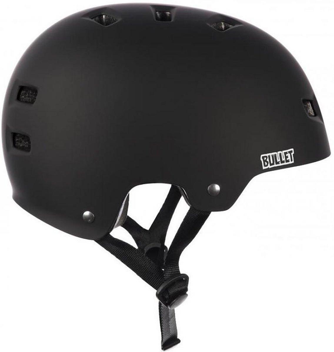 Bullet Deluxe Helmet T35 junior Grom zwart veiligheidshelm kids kopen