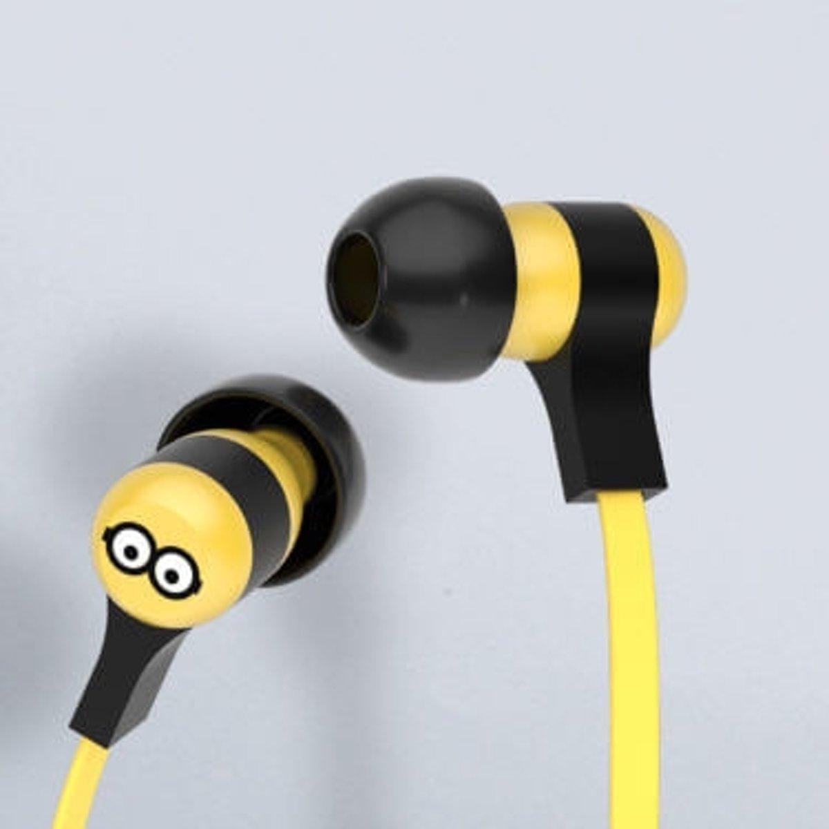 Tribe EPW12101 In-ear Stereofonisch Bedraad Zwart, Geel mobiele hoofdtelefoon kopen
