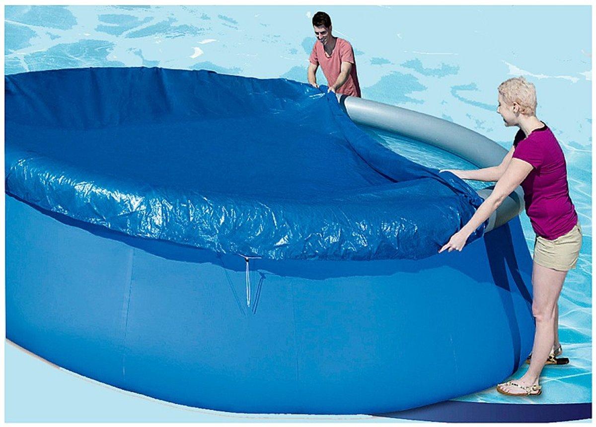Afdekzeil voor Zwembad (diameter 457 cm)