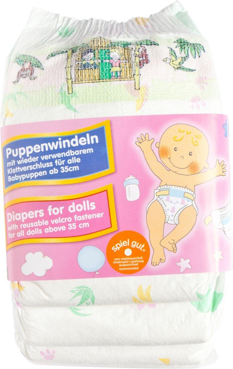 Poppenluiers - 3 stuks Wit