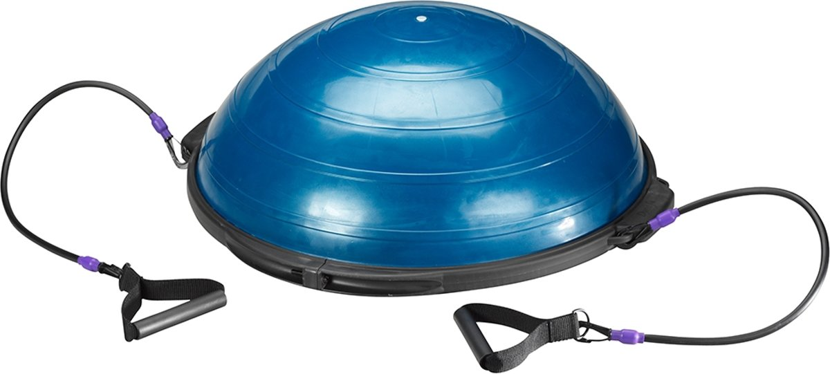 Trendy Sport - Trendy Meia 60 cm + 2 tubes elk 75 cm lang - Balanstrainer & Coördinatietrainer - ca. Ø 60 cm - ca. 22 cm h - 300 kg belastbaar - Blauw kopen