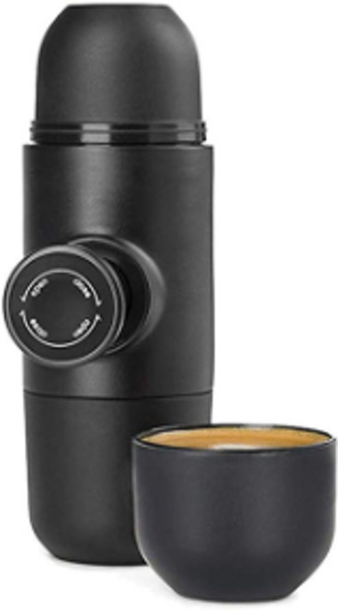 Travel espresso machine - Espresso to go - portable espresso maker - mini espresso maker - handpresso - minipresso - nespresso travel - BPA vrij - GRATIS VERZENDING ! kopen