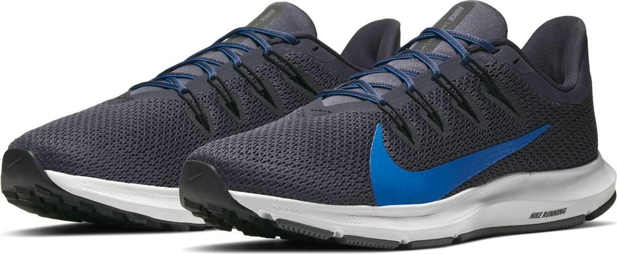 Nike Quest 2 Heren Hardloopschoenen GridironMountain Blue Black Gunsmoke Maat 45,5