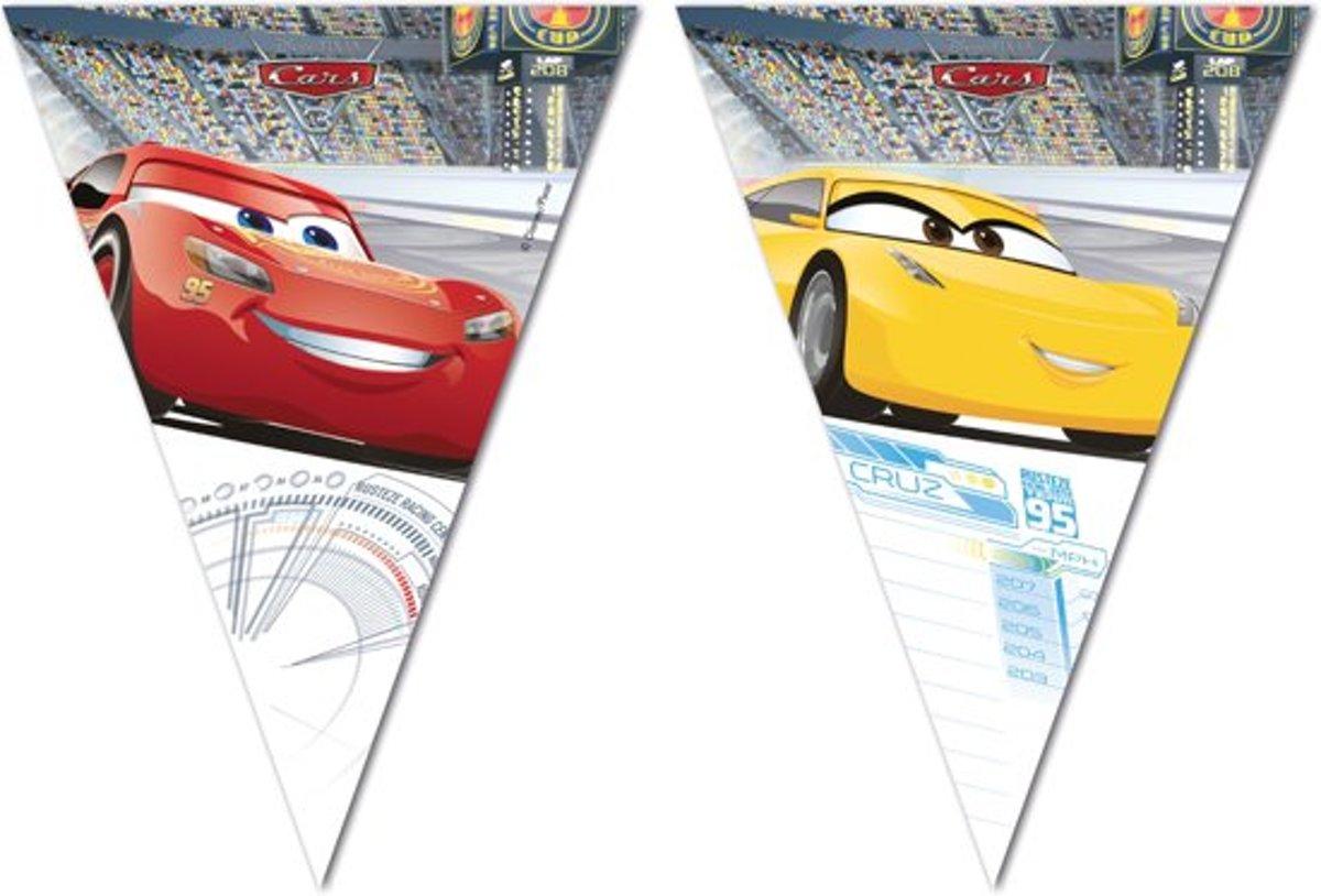 Cars 3 Slinger vlaggenlijn (2,3m) vlaggetjeslijn feestversiering feest versiering