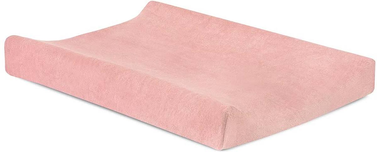 Waskussenhoes badstof 50x70cm soft pink