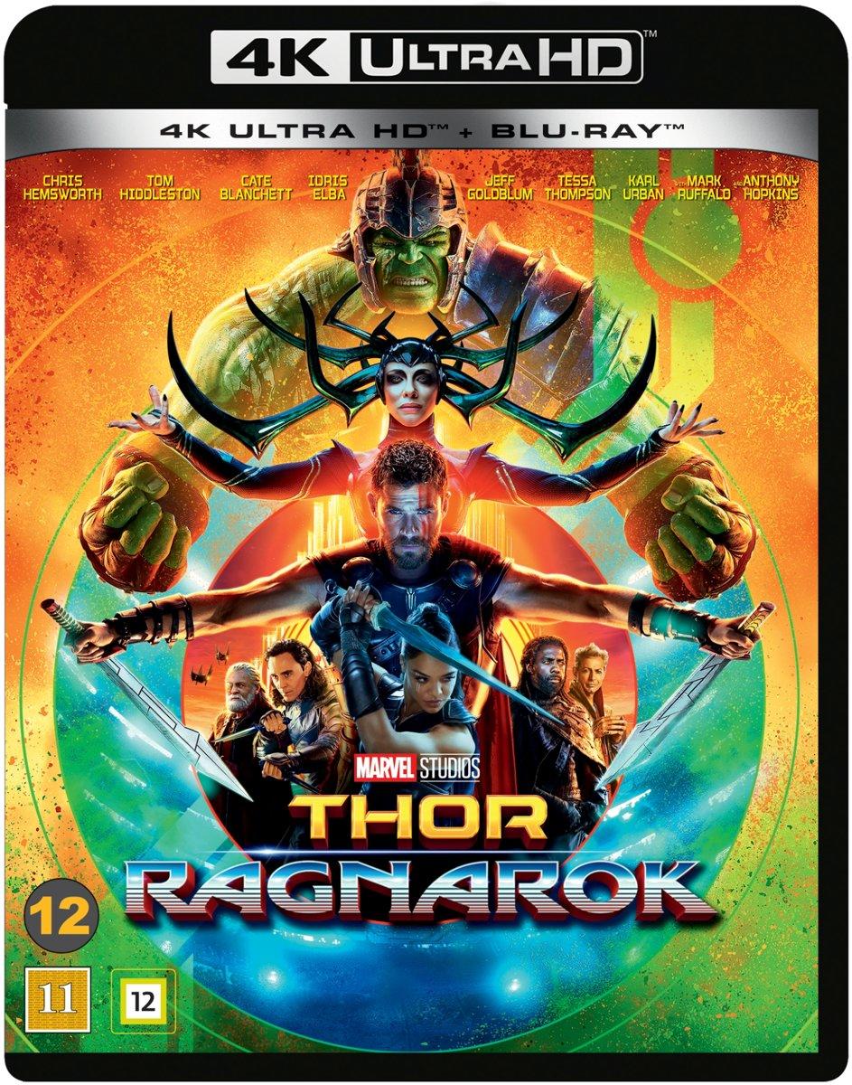Thor 3: Ragnarok (4K UHD blu-ray) (Import)-