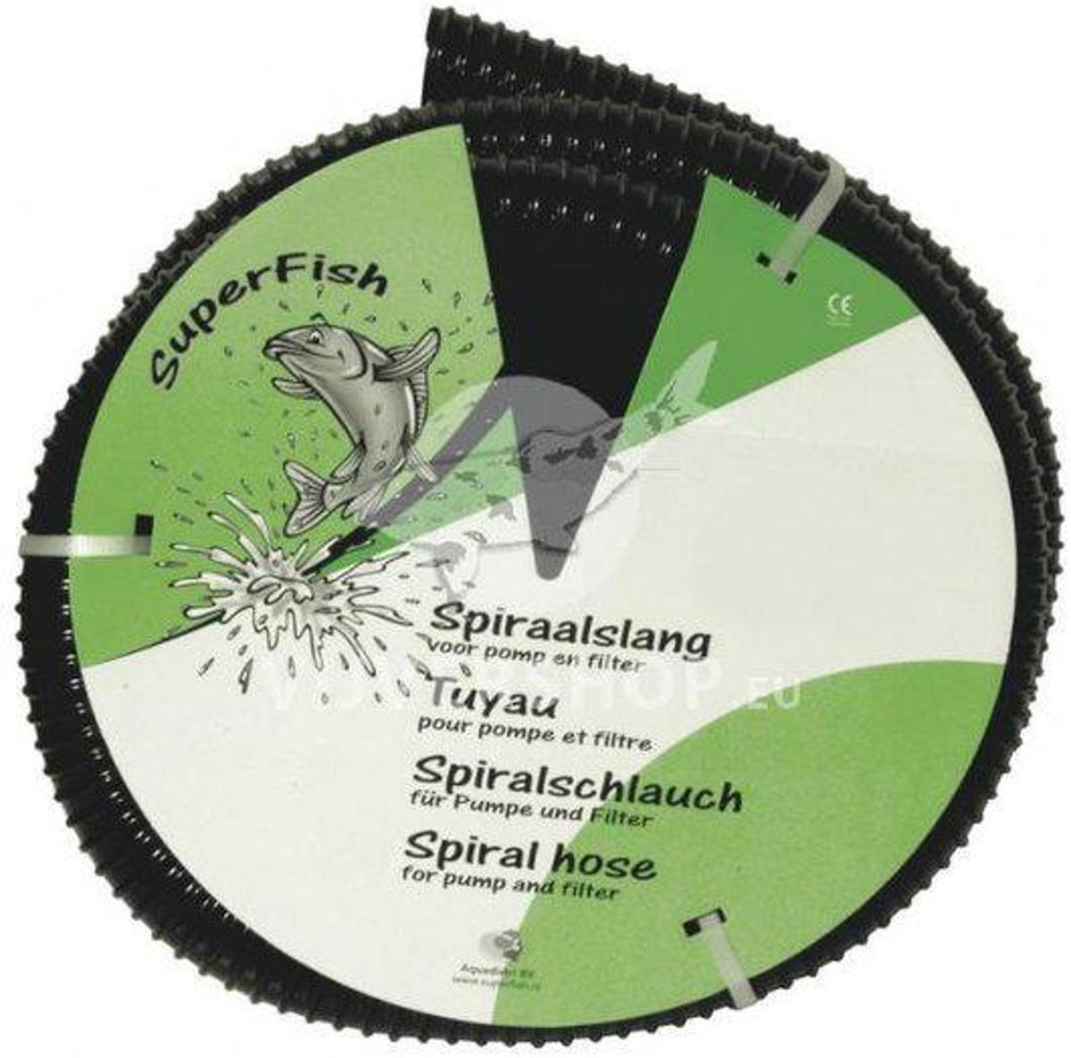 Zwarte spiraalslang dikwandig 40 mm / 5 meter kopen