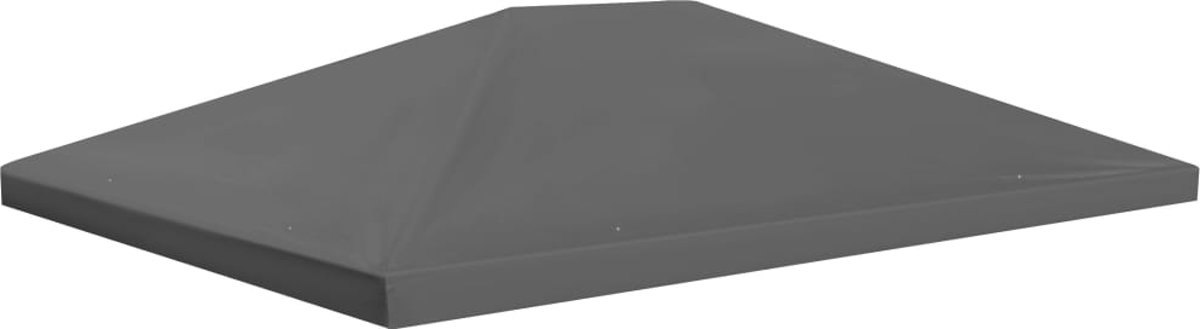 vidaXL Prieeldak 4x3 m 310 g/m² grijs kopen