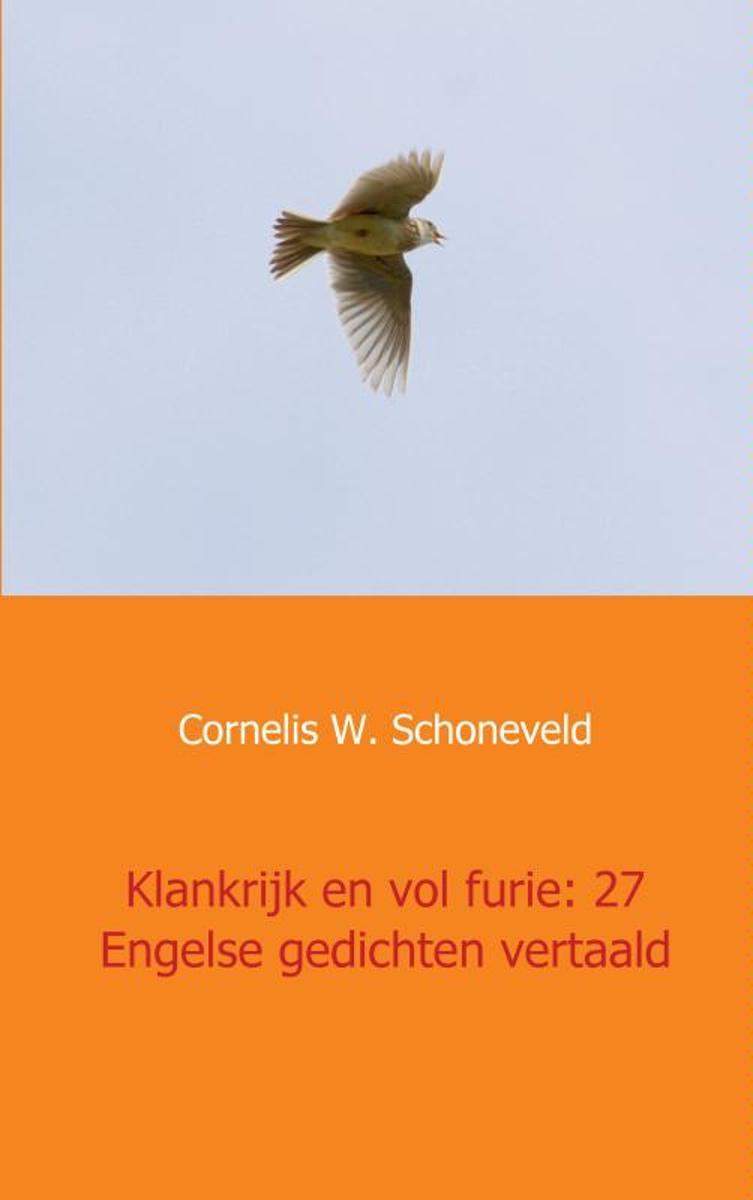 Bolcom Klankrijk En Vol Furie 27 Engelse Gedichten Vertaald