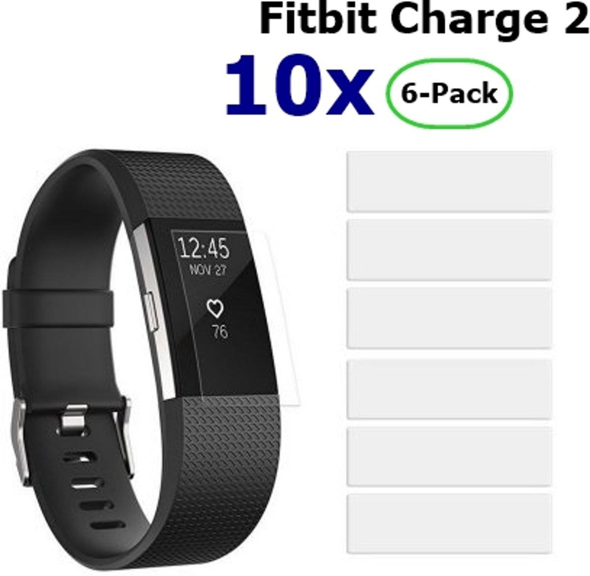 Beschermfolie voor Fitbit Charge 2 - 10x Blisters (60 stuks) kopen