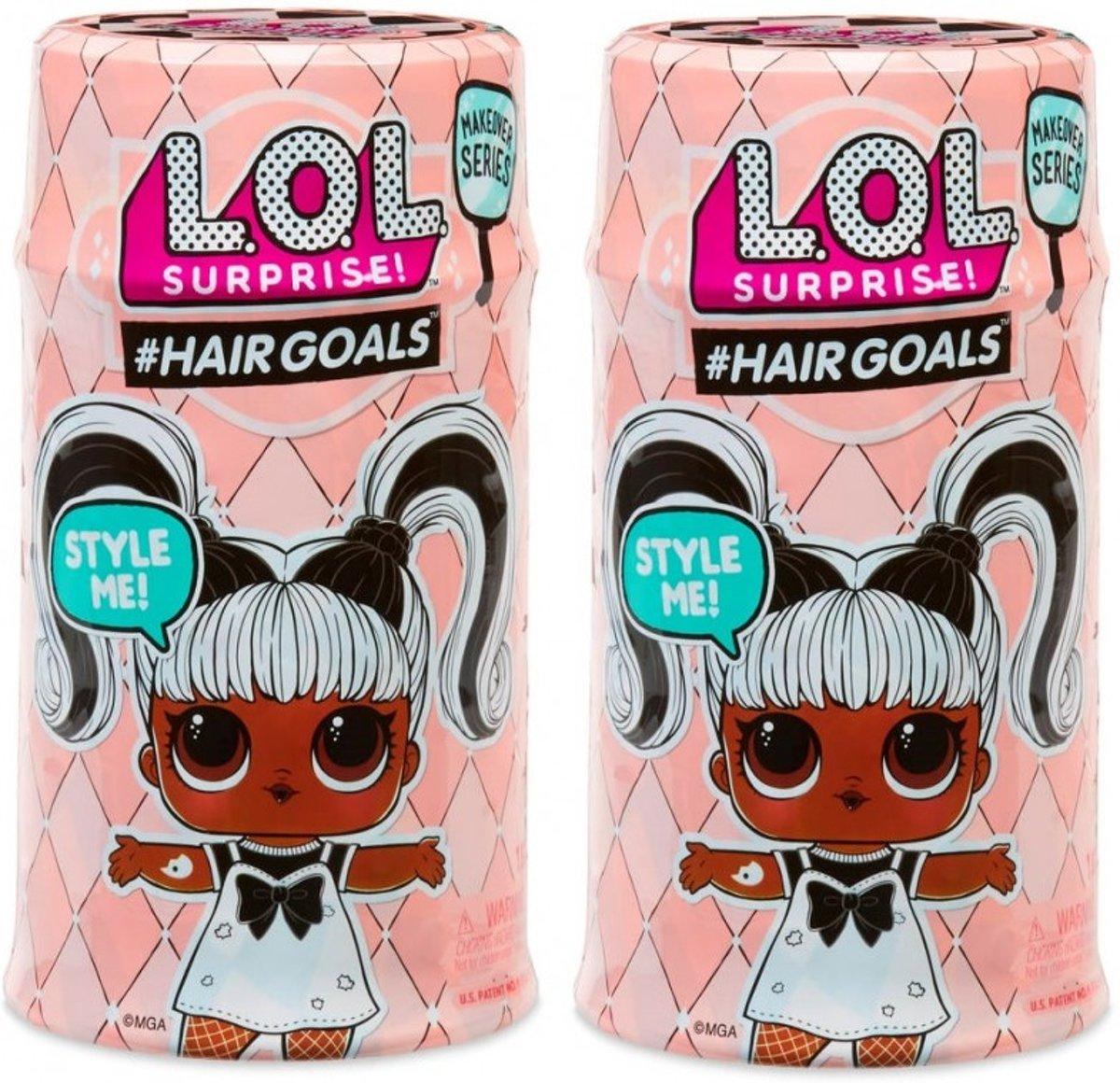 L.O.L. Surprise Hairgoals Makeover Series 1A - bundelpakket (2 stuks)