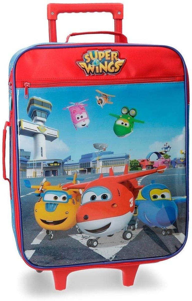 Super Wings jongens koffer trolley 2 w 52 cm kopen
