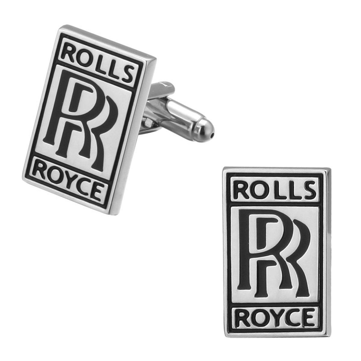 Montebello Manchetknopen Rolls Royce - Heren - Metaal - Auto - 18 x 20 mm kopen