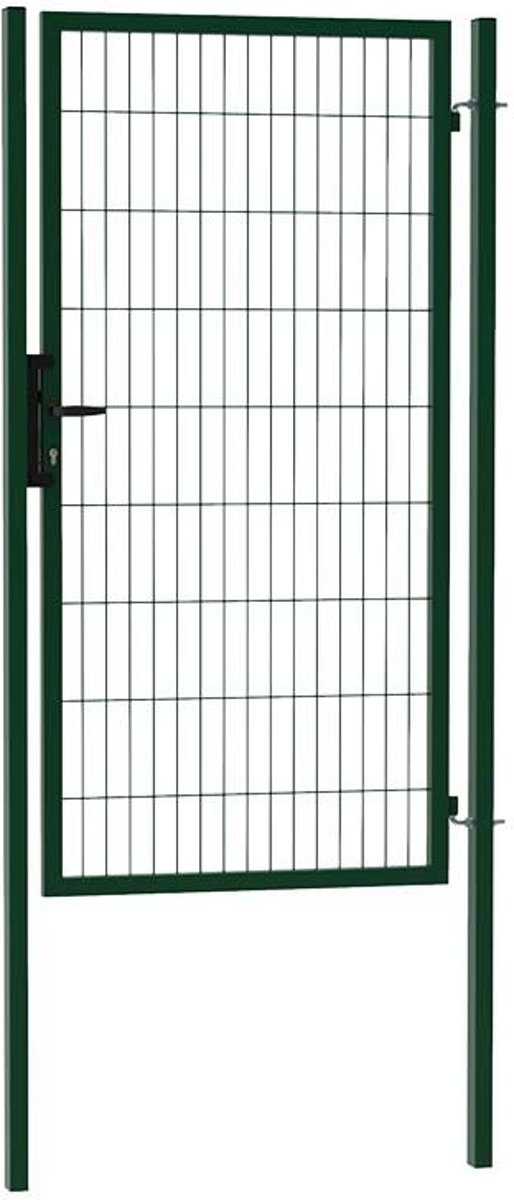 Enkele tuinpoort ECO 100 x 180 (bxh) groen RAL6009 kopen