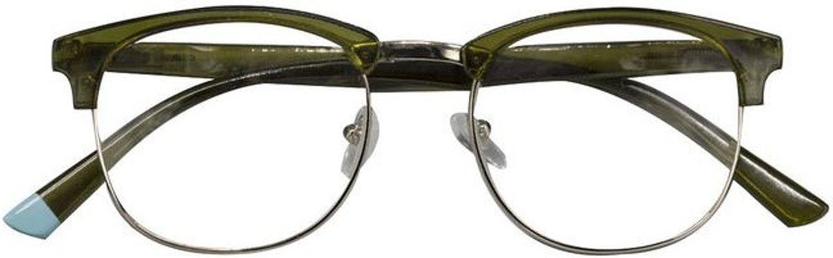 Croon leesbril Berlin groen sterkte +1,50 kopen