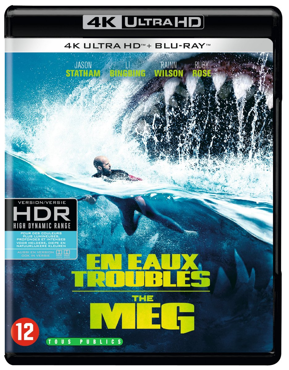 The Meg (4K Ultra HD Blu-ray)-