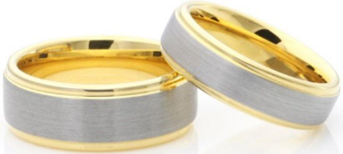 Schitterende Ringen voor hem en haar - Prijs is set van 2 stuks kopen