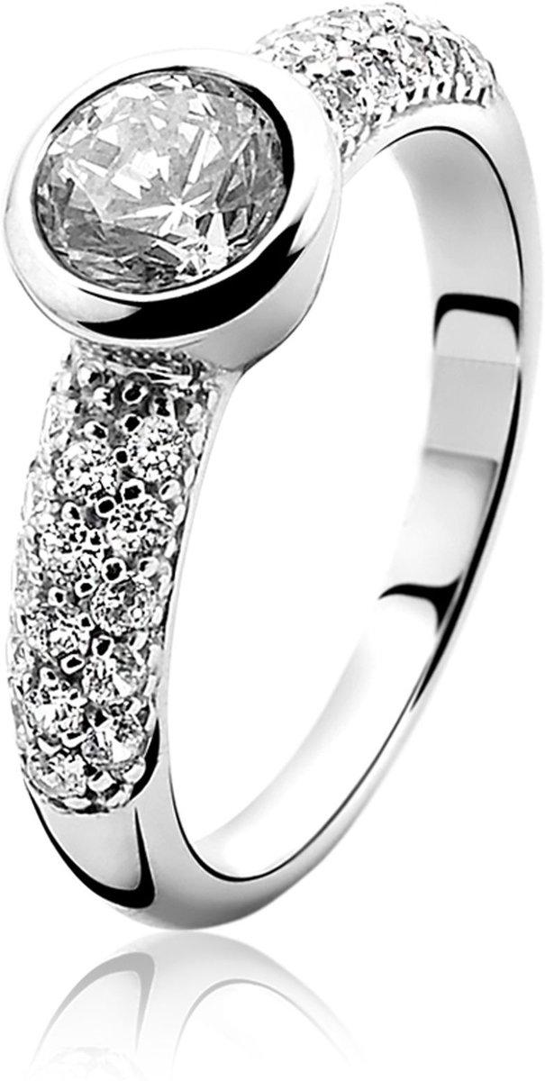 Zinzi Ring  - Dames - Zilver - 17.25 mm (54) kopen
