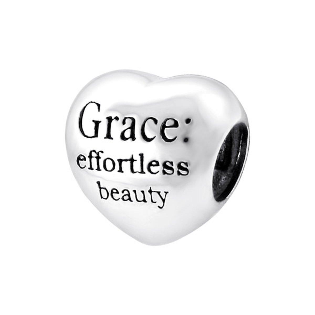 Grace bead | Bedel | Sterling 925 Silver (Echt zilver) | Past op vele merken | Nikkelvrij kopen