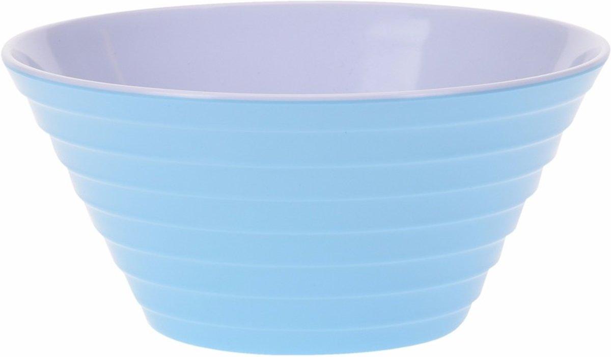 Schaal melamine blauw 27 cm kopen