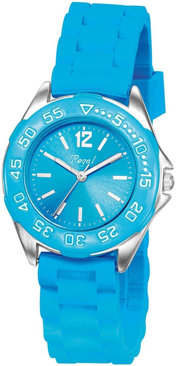Regal Sporty R37800 333 - Horloge - Siliconen - 29 mm - Blauw kopen