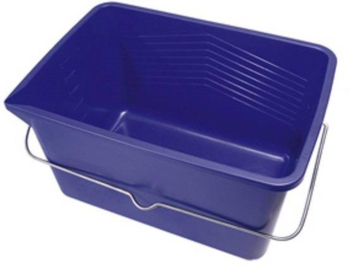 Blauwe Verfemmer 12 liter Latex bak voor verf kopen