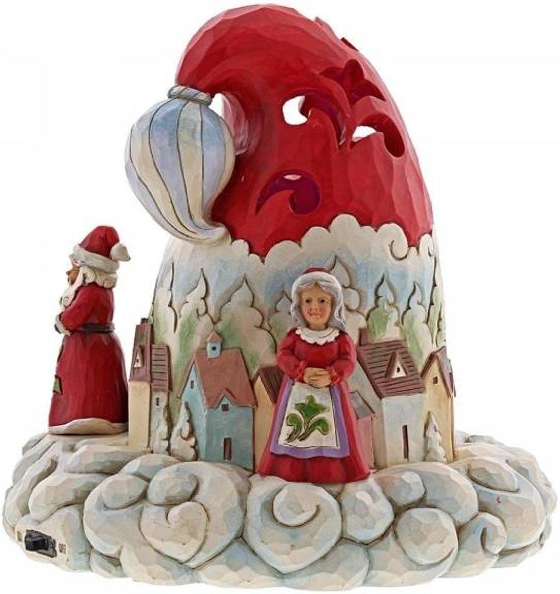 Jim Shore: Petje af voor kerstmagie (verlichte kerstmuts) Beelden & Figuren kopen